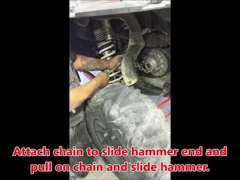 How to Remove Stuck Secondary Clutch Polaris RZR