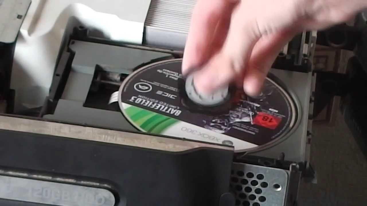 Xbox 360 slim open tray error