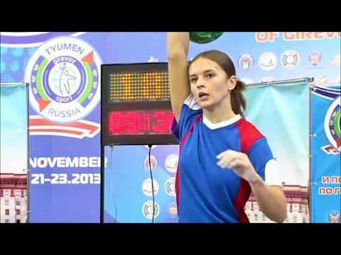 Ksenia Dedyukhina - 189 reps in snatch (Tyumen, Russia, World championship 2013)