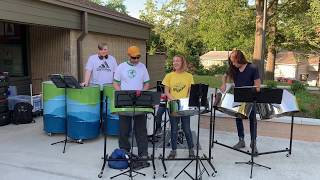 Happy Now - Blue Iron Community Steel Band