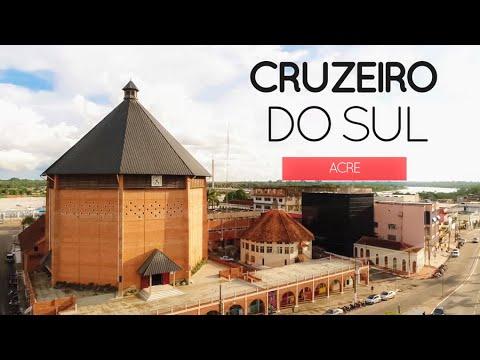 CRUZEIRO DO SUL ACRE - TURISMO I Cruzeiro do Sul vista de cima - imagens de DRONE.