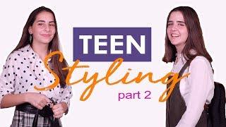 Teen Styling With Micha (Part 2) | تنسيق الأزياء للمراهقات مع ميشا