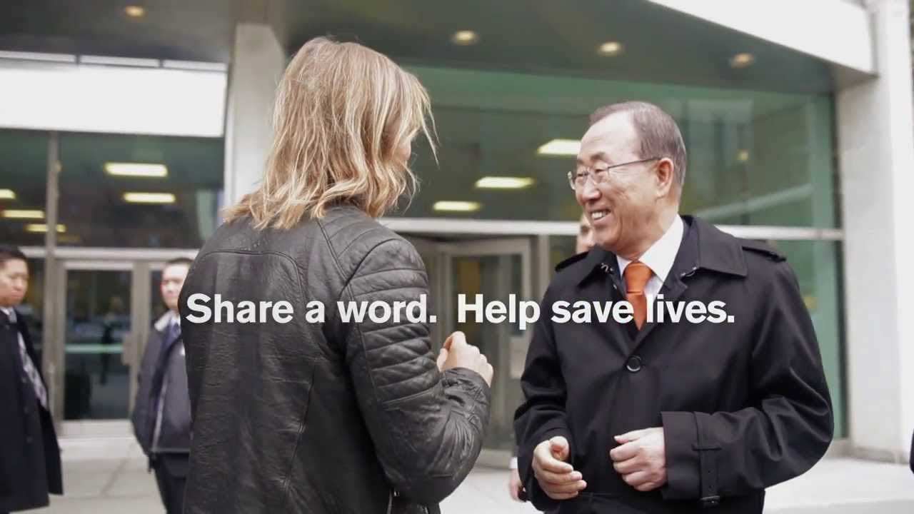 #TheWorldNeedsMore — David Guetta Visits UN Secretary-General Ban Ki-moon