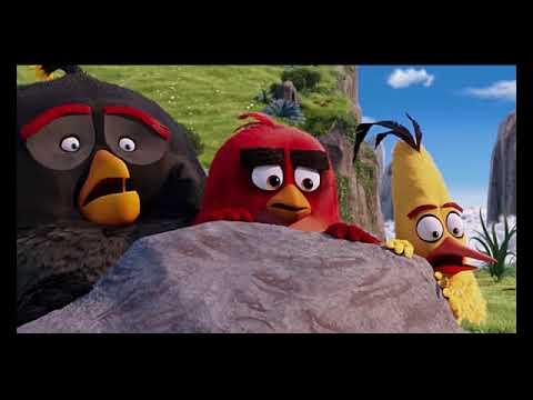 Angry birds movie (eagle scene) Greek audio