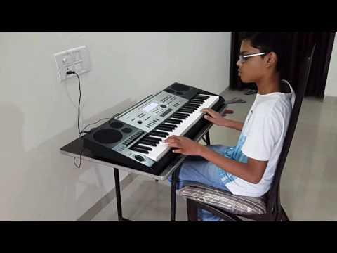 13 year old playing Gulabi Aankhen  on electronic keyboard (CASIO CTK 7300IN)