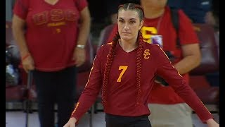 Highlights: USC women's volleyball sweeps UCLA in crosstown, top-25 showdown