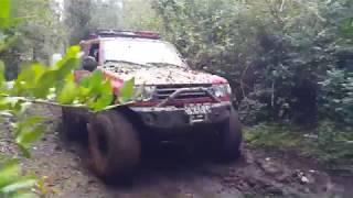 RAID RUTA  4X4 EL DIABLO, PANGUIPULLI-CHILE