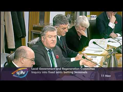 Scottish Parliament, Inquiry into Fixed Odds Betting Terminals (FOBTs)
