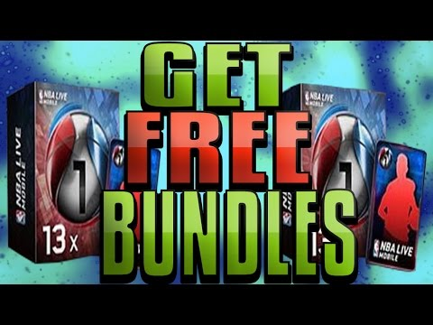 HOW TO GET FREE NBA LIVE MOBILE BUNDLES! FREE NBA CASH INSTANTLY!