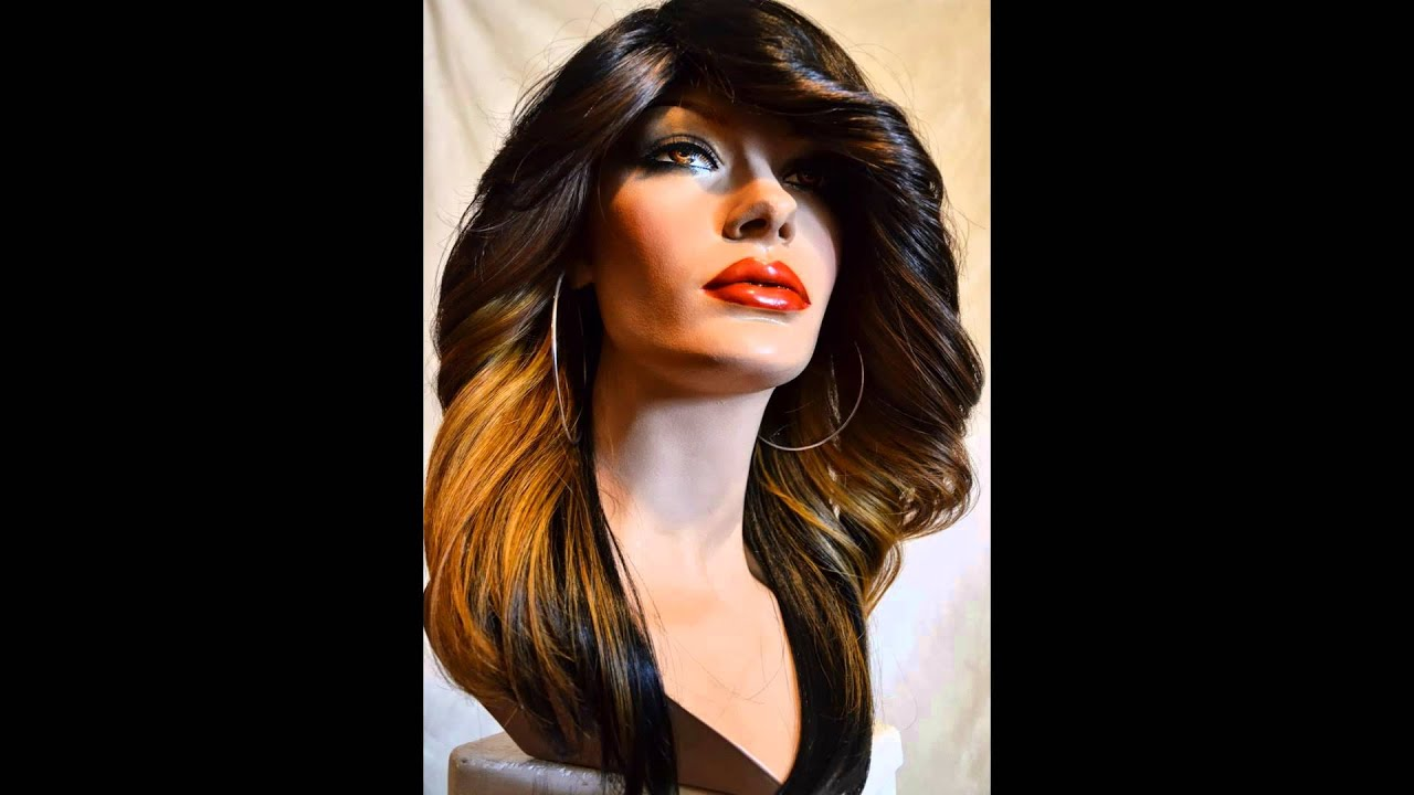 Hair Weave Half Wig Invisible Part 3d Wig Lacefront Tranny Drag