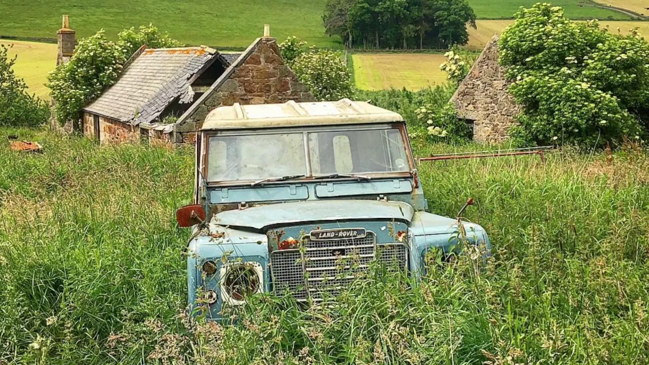 Abandoned farmers cottage, Scotland - YouTube
