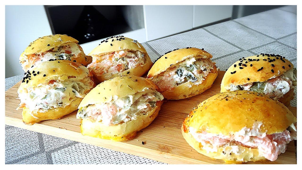 Bien-aimé ❥ Petites navettes saumon fumé fromage & cornichons. - YouTube JO14