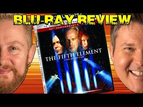 THE FIFTH ELEMENT 4K Blu-ray Review - Film Fury