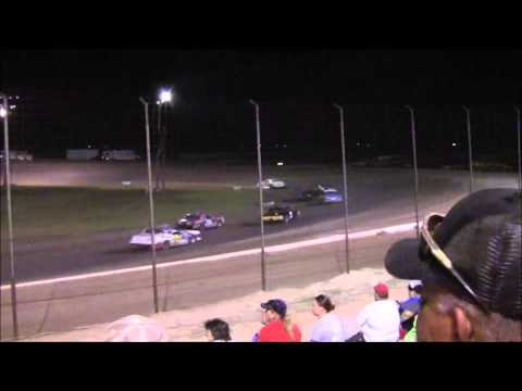 IMCA Hobby and Pure Stock Main at Lubbock Speedway 7-25-14