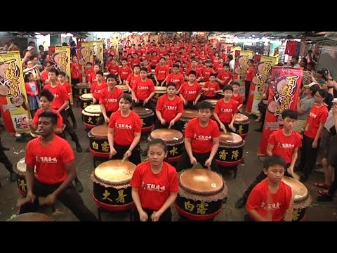 Drum show makes it into the Malaysia Book of Records