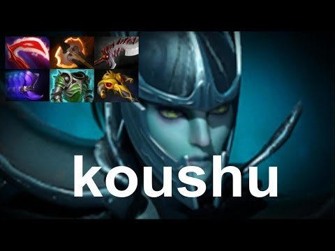 koushu Phantom Assassin vs Sneyking, USH, MSS Dota 2