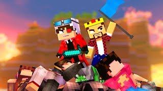 ВМЕСТЕ С АИДОМ ОТБИВАЕМ НАШУ ТОЧКУ! ЦАРЬ ГОРЫ В МАЙНКРАФТЕ! Minecraft