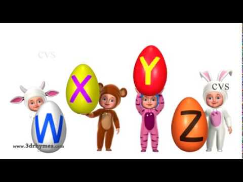 A for Apple   Alphabet ABC Songs   Phonics Song   3D ABC Songs & Rhymes for Children   YouTube