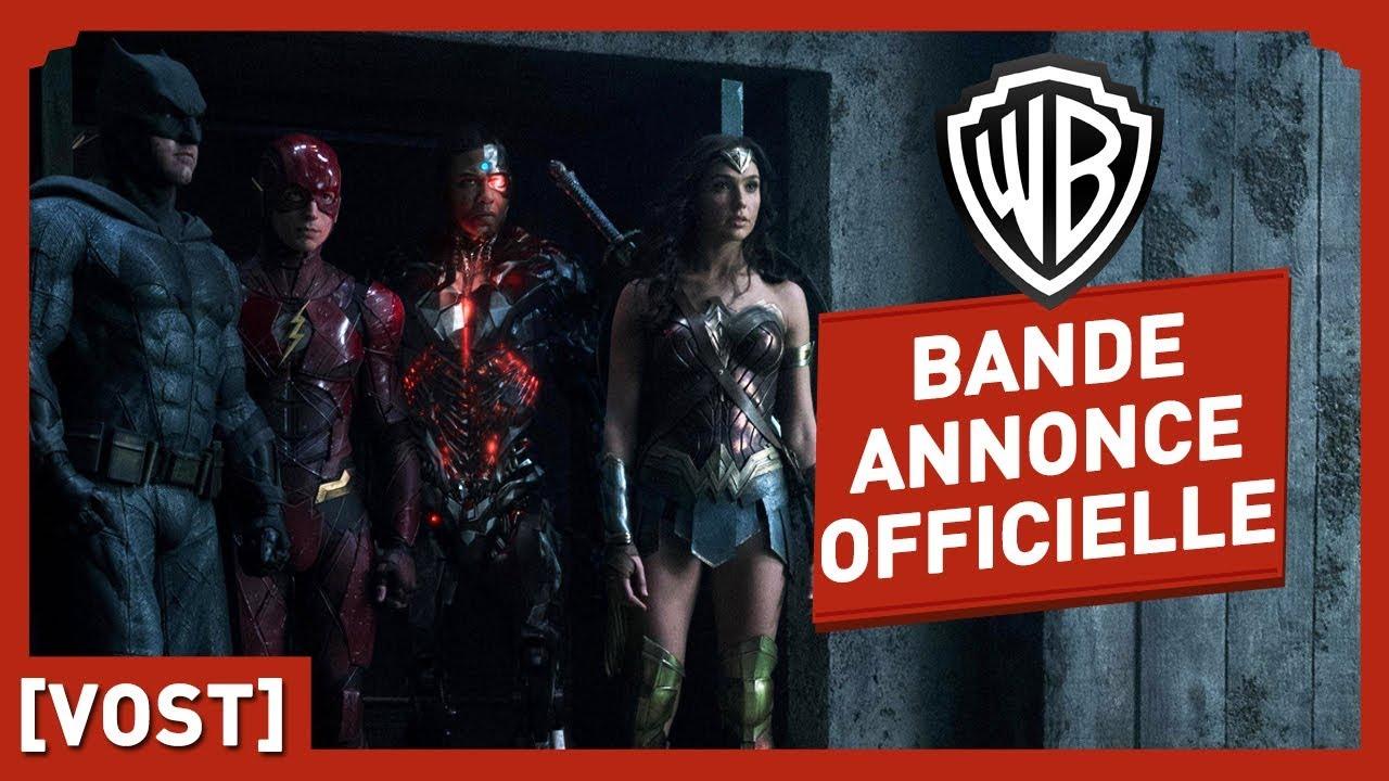 Justice League - Bande Annonce Officielle 2 (VOST)