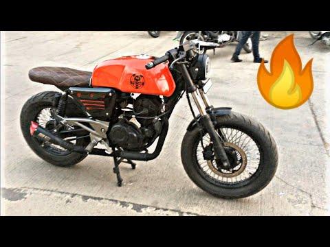 Modified Bajaj Pulsar Into CafeRacer By Dirt Machine Custom Motorcycles Top Modified Bajaj Pulsar🔥