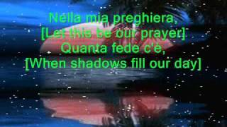 The Prayer - Marcelito Pomoy - karaoke / instrumental / minus one