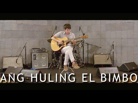 Ang Huling El Bimbo - Eraserheads (fingerstyle guitar)