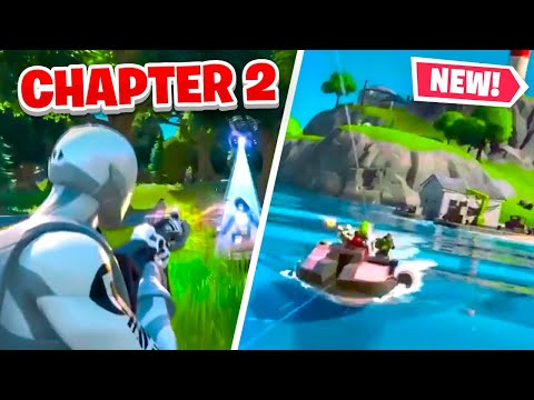 FORTNITE CHAPTER 2 LEAKED TRAILER