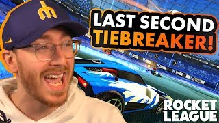 Last Second Tiebreaker! - Rocket League Duos Gameplay