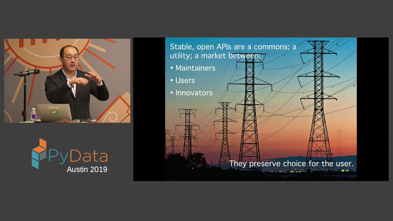 Image from Peter Wang: Values-based OSS Open Discussion | PyData Austin 2019