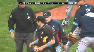 2009/06/21 Three Braves ejected