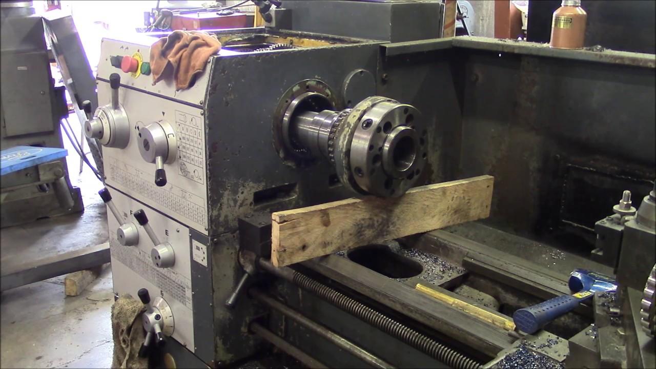 Engine Lathe Headstock Tear Down