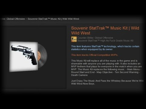 CS GO Music Kit | Wild Wild West
