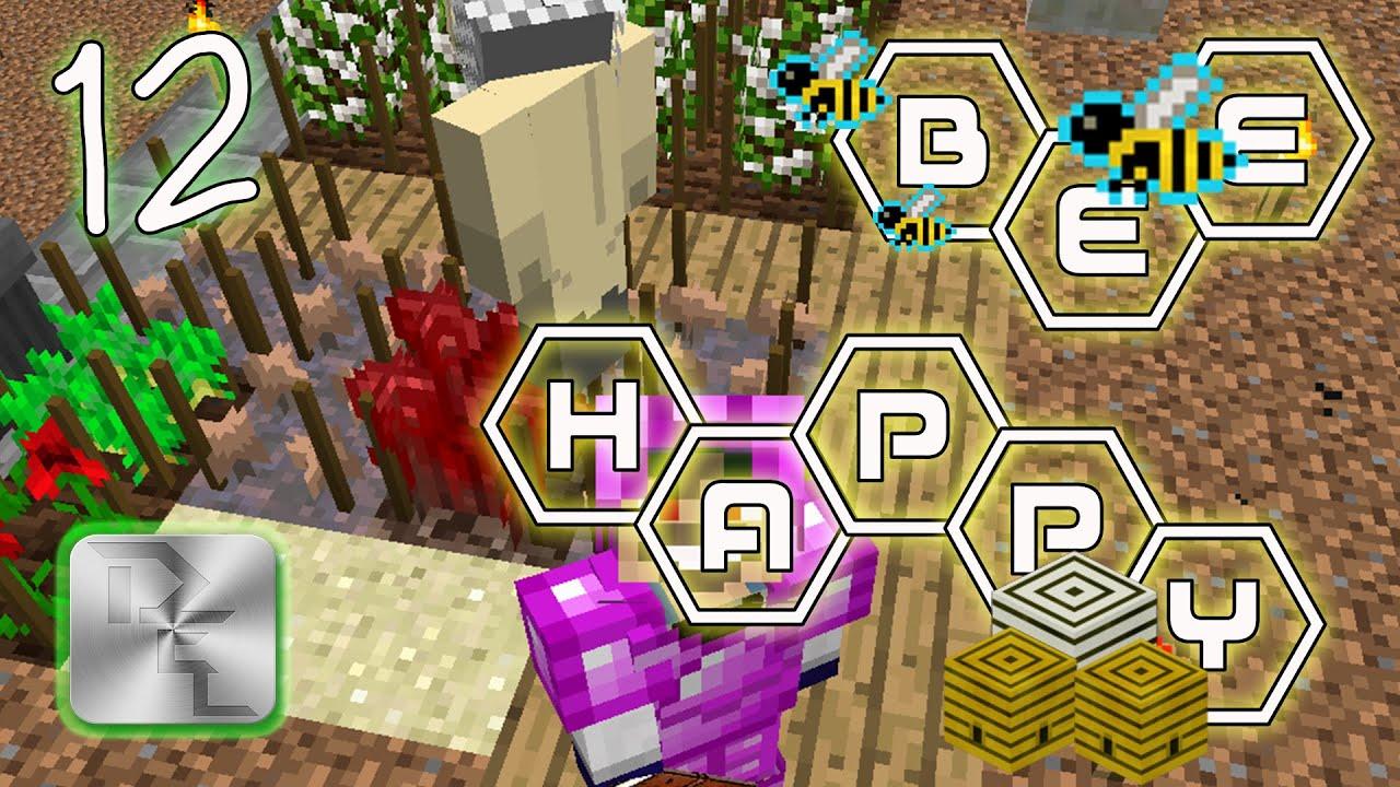 Minecraft Mod Pack Bee Happy - Episode 12 - Moisteners