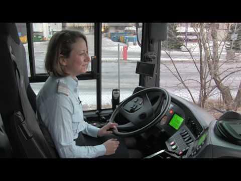 Buss på biogass i Oslo
