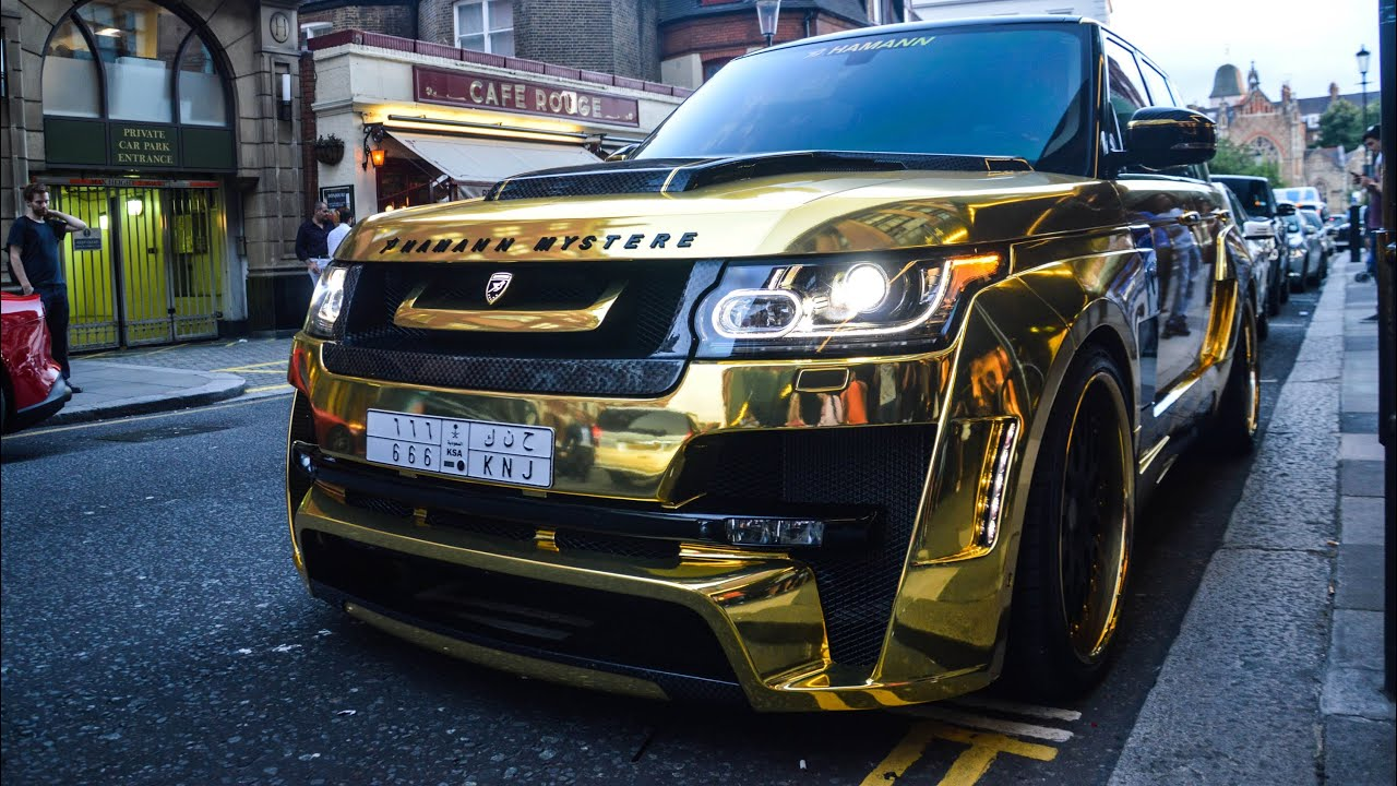 Chrome Gold Hamann Mystere On The Streets Of London