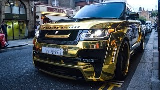 CHROME GOLD Hamann Mystere on the streets of London!!