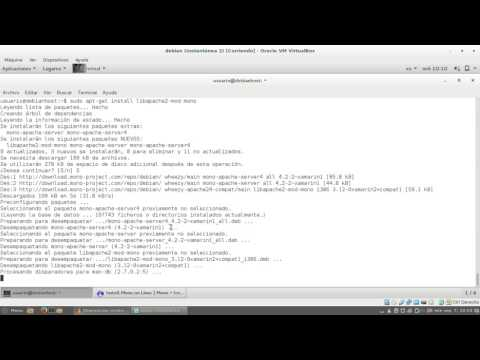 Instalación y configuración de mod_mono