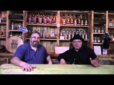 Tony Dean and Rick Dollar at Appalachian Mountain Spirits Mercantile
