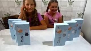 детские колготки Фаберлик ( 100 den. хлопок) Смотрите до конца). Девчушки танцуют