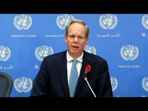 Press Briefing by Ambassador Matthew Rycroft, Permanent Representative of the United Kingdom