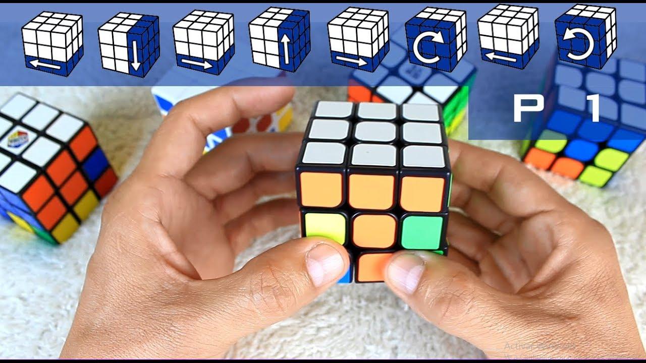 Como Armar Un Cubo Rubik Principiantes Parte 1 De 3 Youtube
