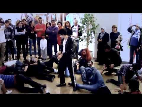 Halloween Flashmob 2011 in Baku  FLASHMOB Azerbaijan