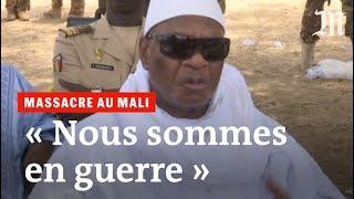 Ibrahim Boubacar Keïta après le massacre des Peuls au Mali : « Nous sommes en guerre »