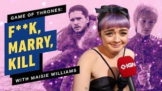 Game of Thrones Cast Play F**k, Marry, Kill (House Stark, Lannister, & Targaryen)