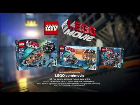 The LEGO Movie Sets Commercial 70801, 70802 & 70808