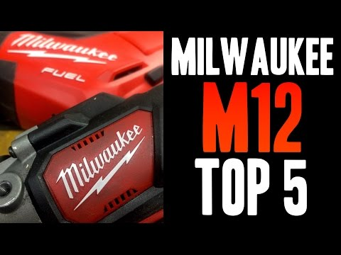 Top 5 Milwaukee M12 Tools!