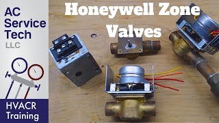 4 Wire, 5 Wire Honeywell Zone Valve Wiring, Troubleshooting, Dismantling