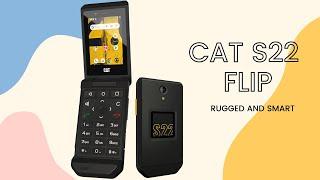 CAT S22 Flip Dumbphone || Rugged and SMART