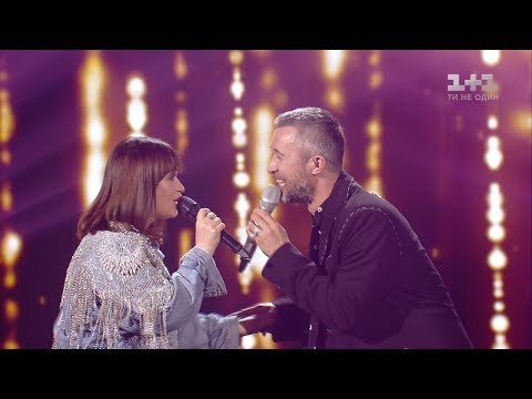 Olena Lutsenko and Sergey Babkin 'Chervona ruta' – The Final – The Voice of Ukraine – season 8