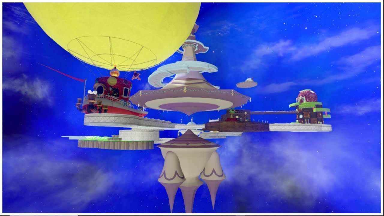 Super Mario Odyssey Comet Observatory Test 1 Youtube